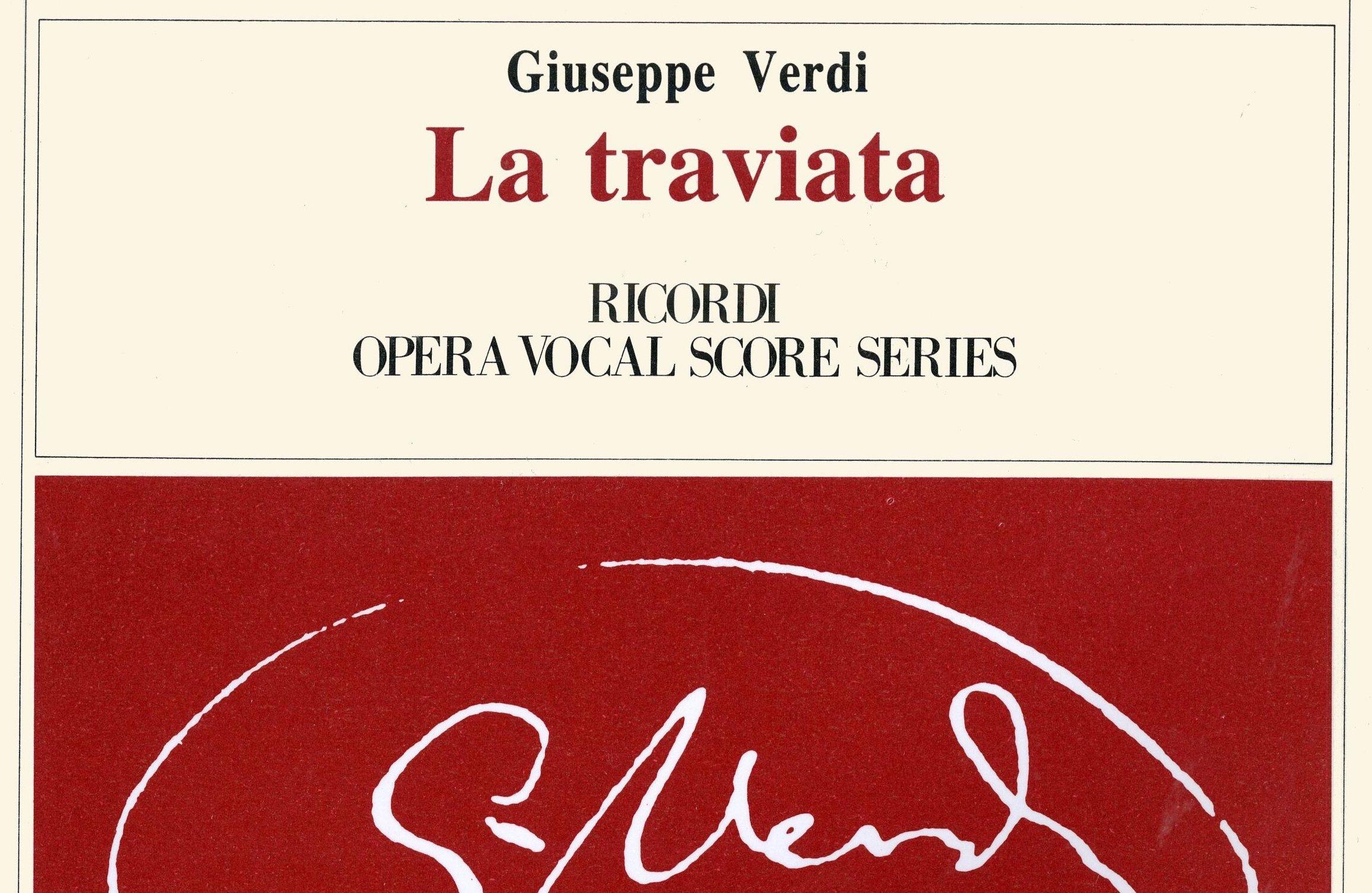 Verdi's LA TRAVIATA (Giorgio Germont)