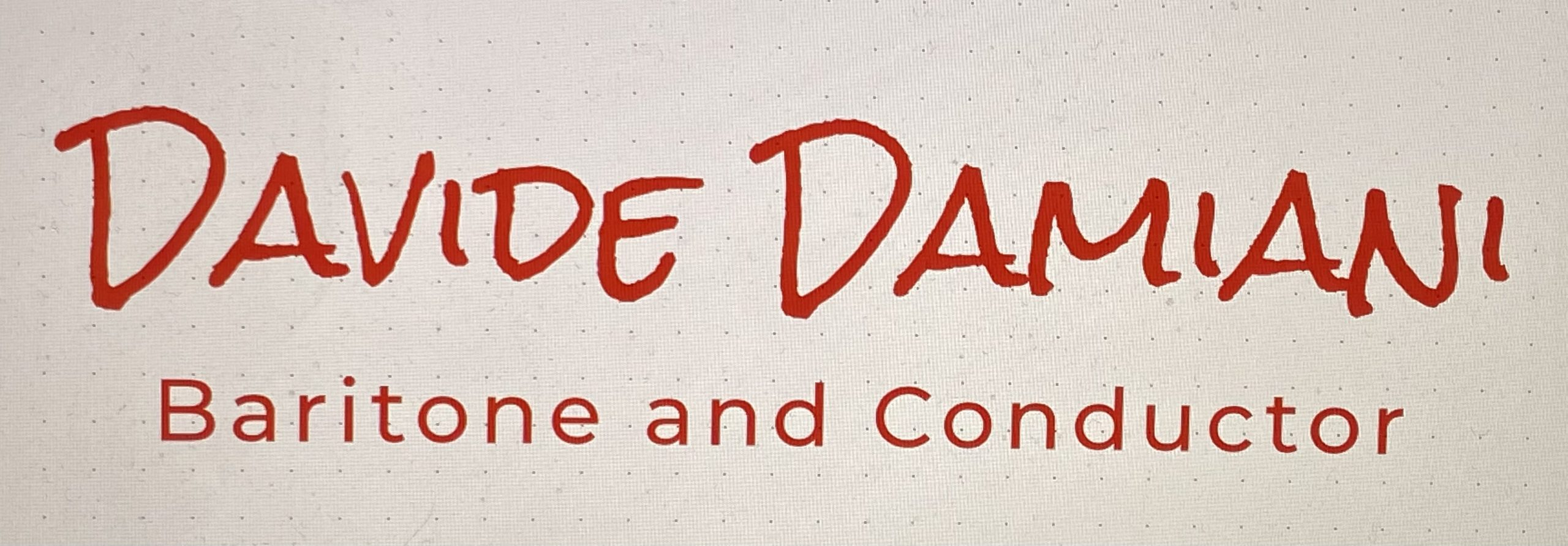 The Official Davide Damiani Website
