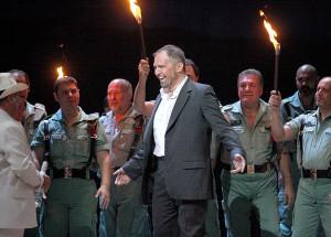 Escamillo in Carmen, TEATRO MASSIMO DI PALERMO, 2011