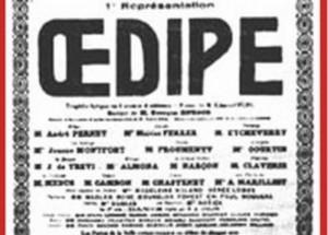 George Enescu: OEDIPE (Oedipe)  New Production