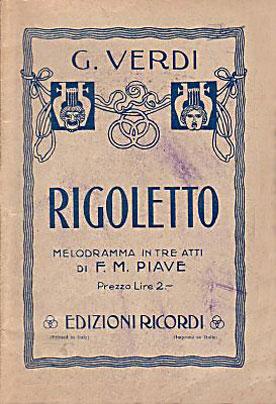 G. Verdi's RIGOLETTO (Rigoletto)