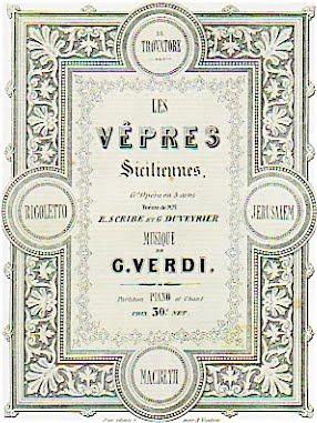 Giuseppe Verdi: LES VÊPRES SICILIENNES (Guy de Montfort)